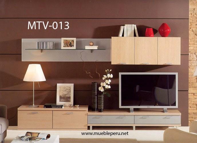 Muebles tv modernos centros de entretenimiento for Modelos de muebles para tv modernos