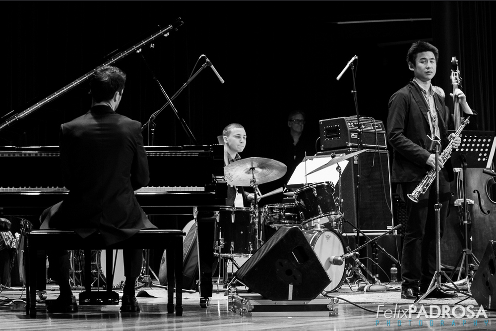 Kevin Sun saxophone Panama Jazz Festival 2015