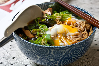 3 hungry tummies: Miso Soba 味噌そば Soba Noodles In Miso Soup ...