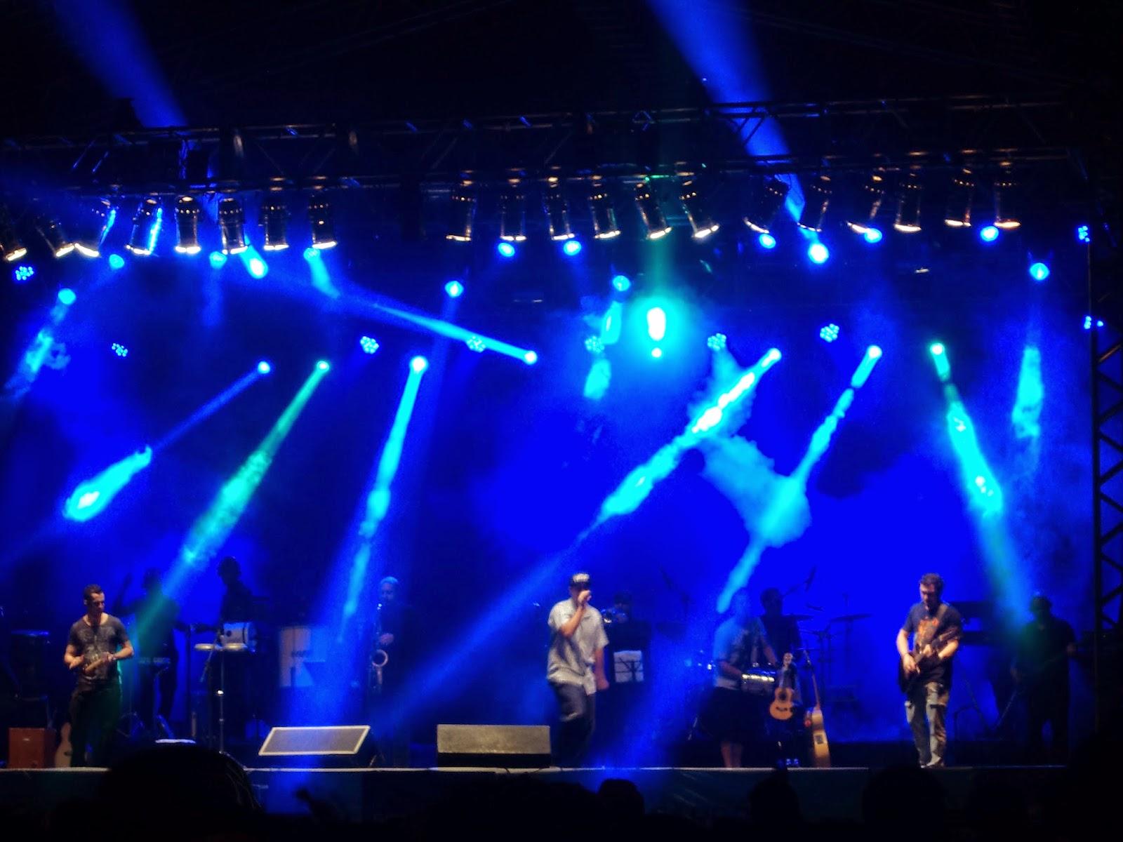 Show do grupo Jeito Moleque foi um sucesso