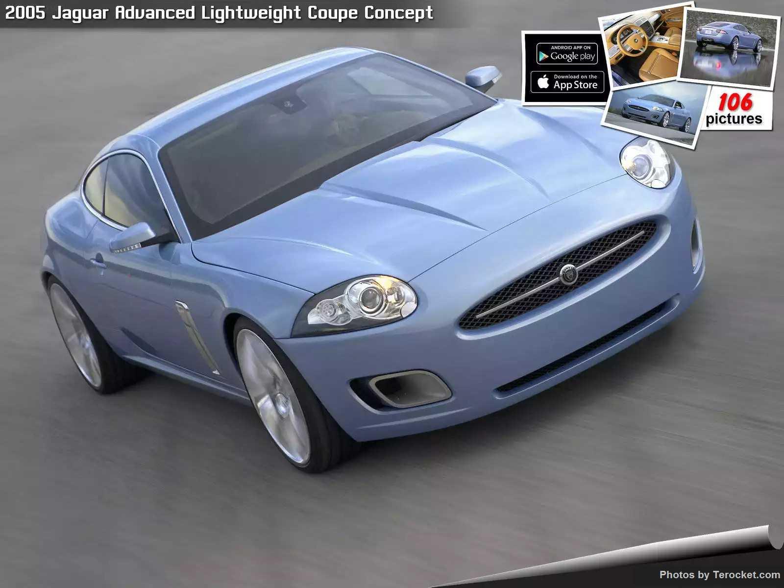 Hình ảnh xe ô tô Jaguar Advanced Lightweight Coupe Concept 2005 & nội ngoại thất