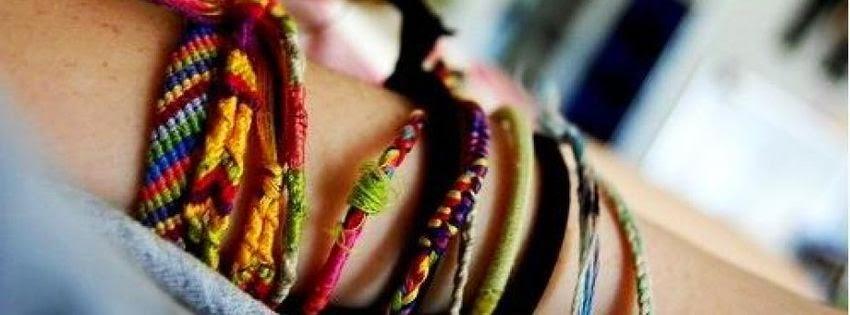 Belle couverture facebook bracelet d'amitié