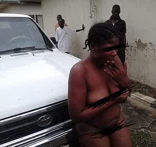 Thug Ade Basket For Beating And Stripping Ladies Naked In Public
