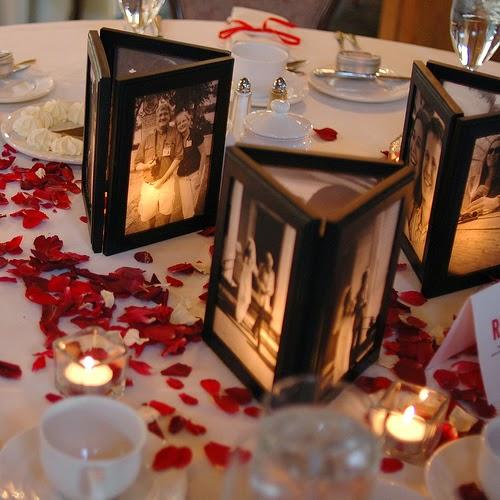 centros de mesa sin flores boda