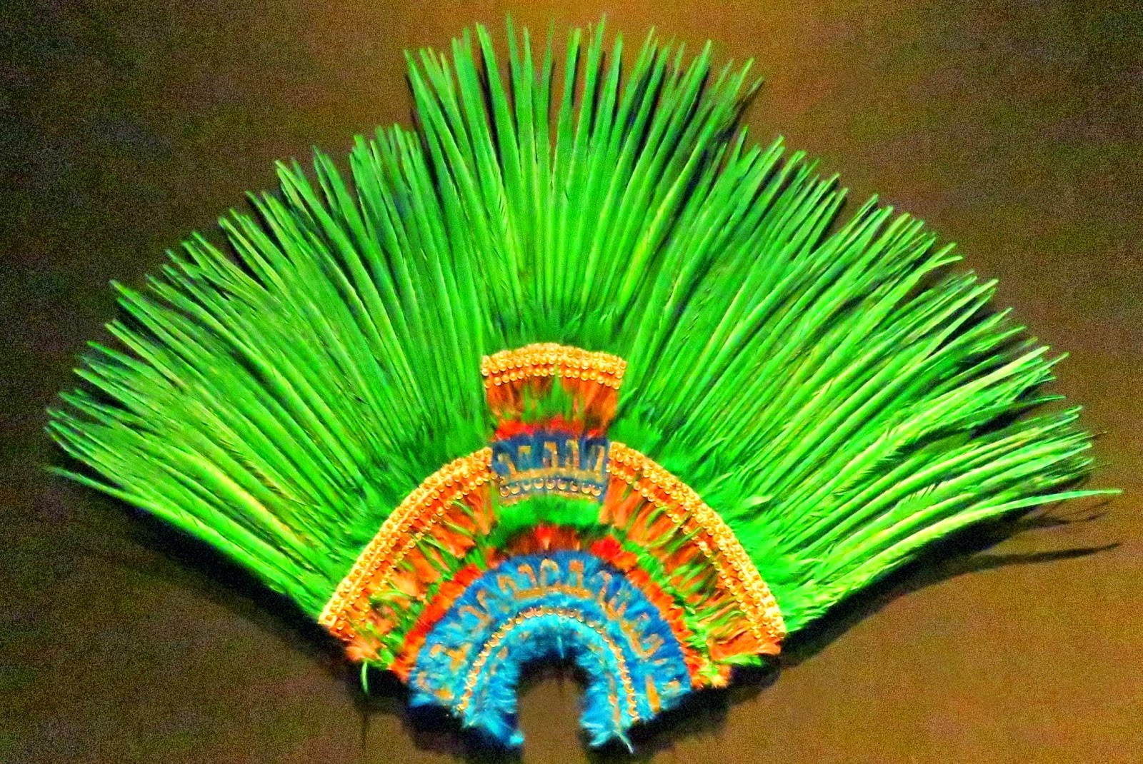 Penacho imperial de Moctezuma