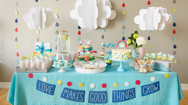 Cute And Inexpensive Baby Shower Decoration Ideas