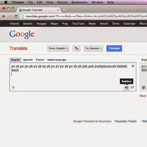 Huevo de Pascua del traductor de google