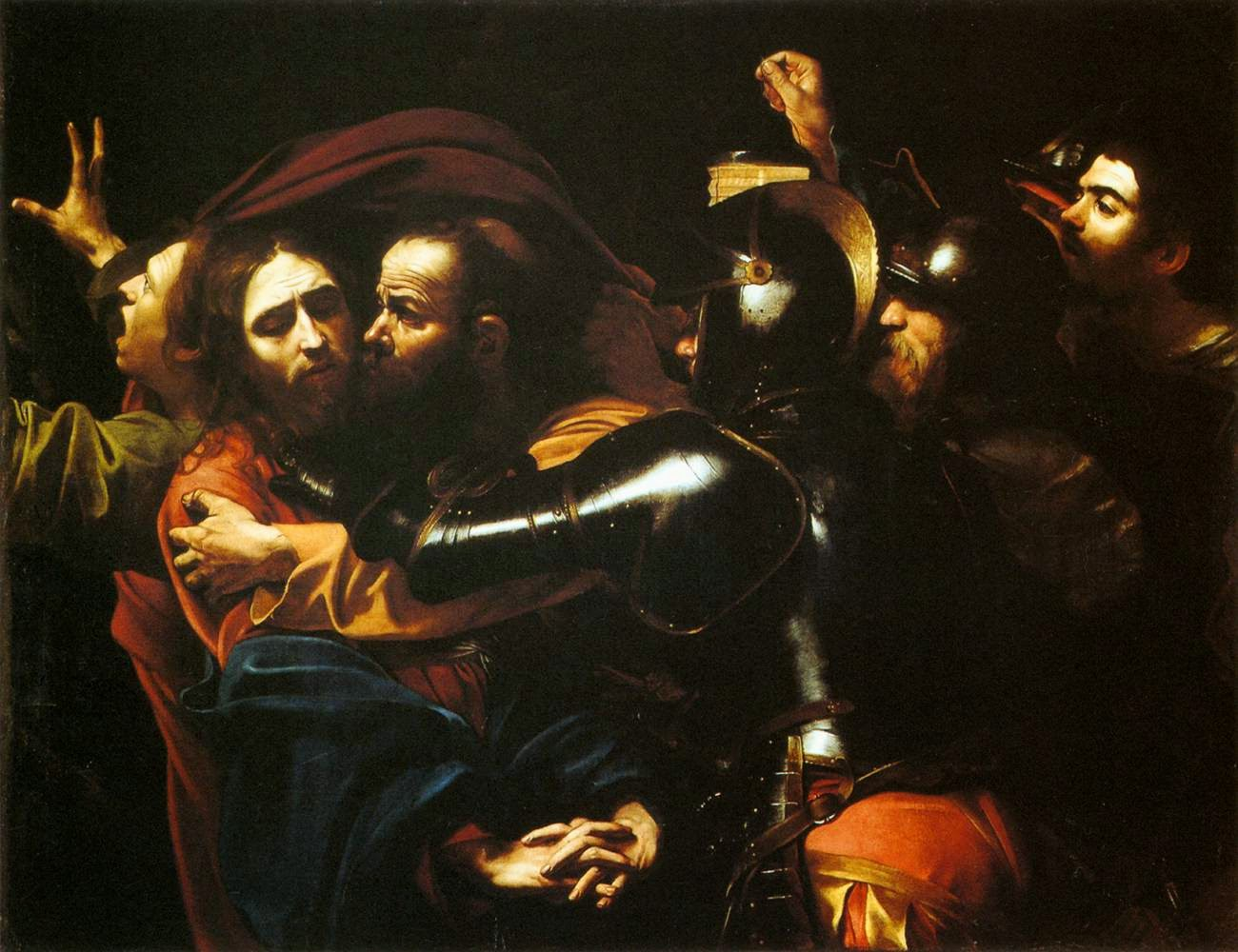 the taking of christ caravaggio The government declared the caravaggio when we look at the taking of christ, we project ourselves into it and - as baroque christianity expected.