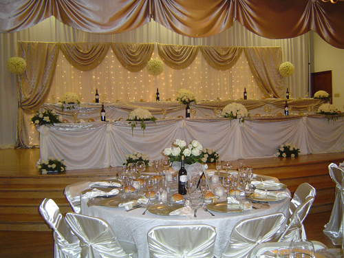 Wedding collections tables wedding decorations for Wedding table decoration ideas