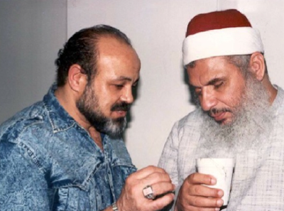 FBI informant and provocateur Emad Salem (left) and Omar Abdel-Rahman, the man who the FBI helped bomb the World Trade Center.