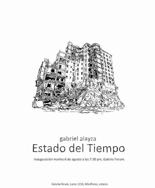 Estado del tiempo - Gabriel Alayza (Galería Forum)