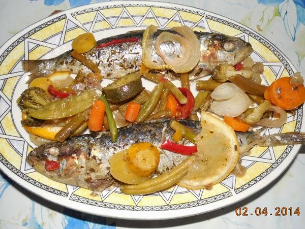 sardine cu legume