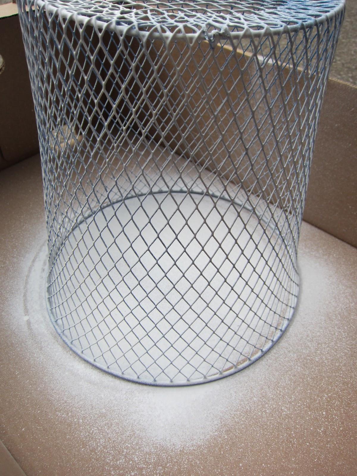 Wire Waste Basket frugal ain't cheap: wire waste basket