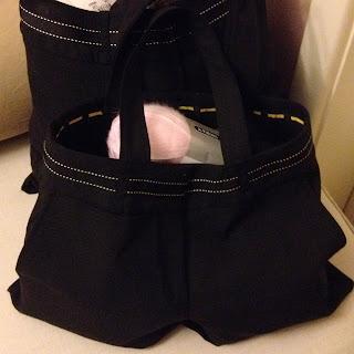 refashioned yarn bags