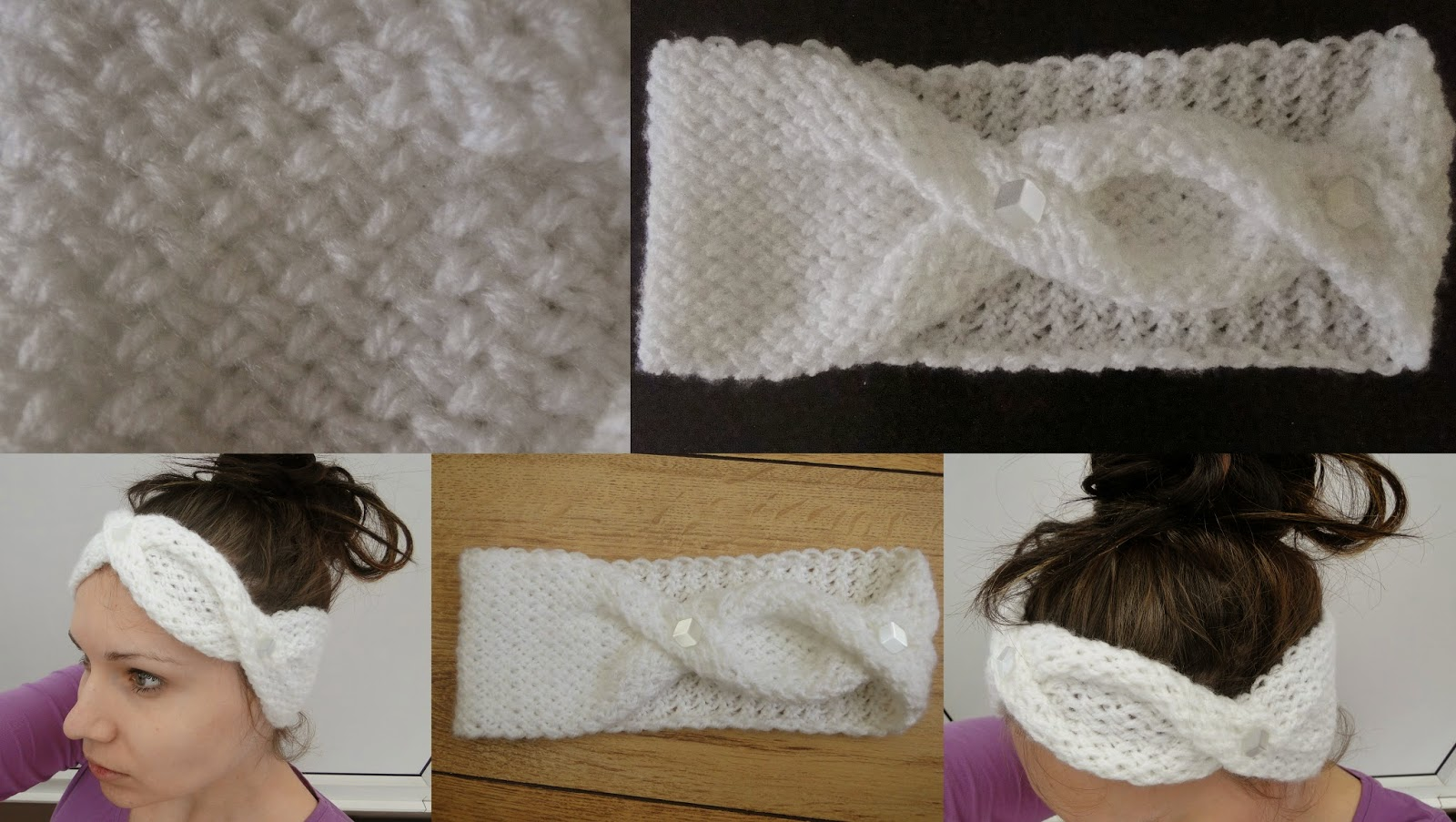 Stylish headband Knitting Pattern