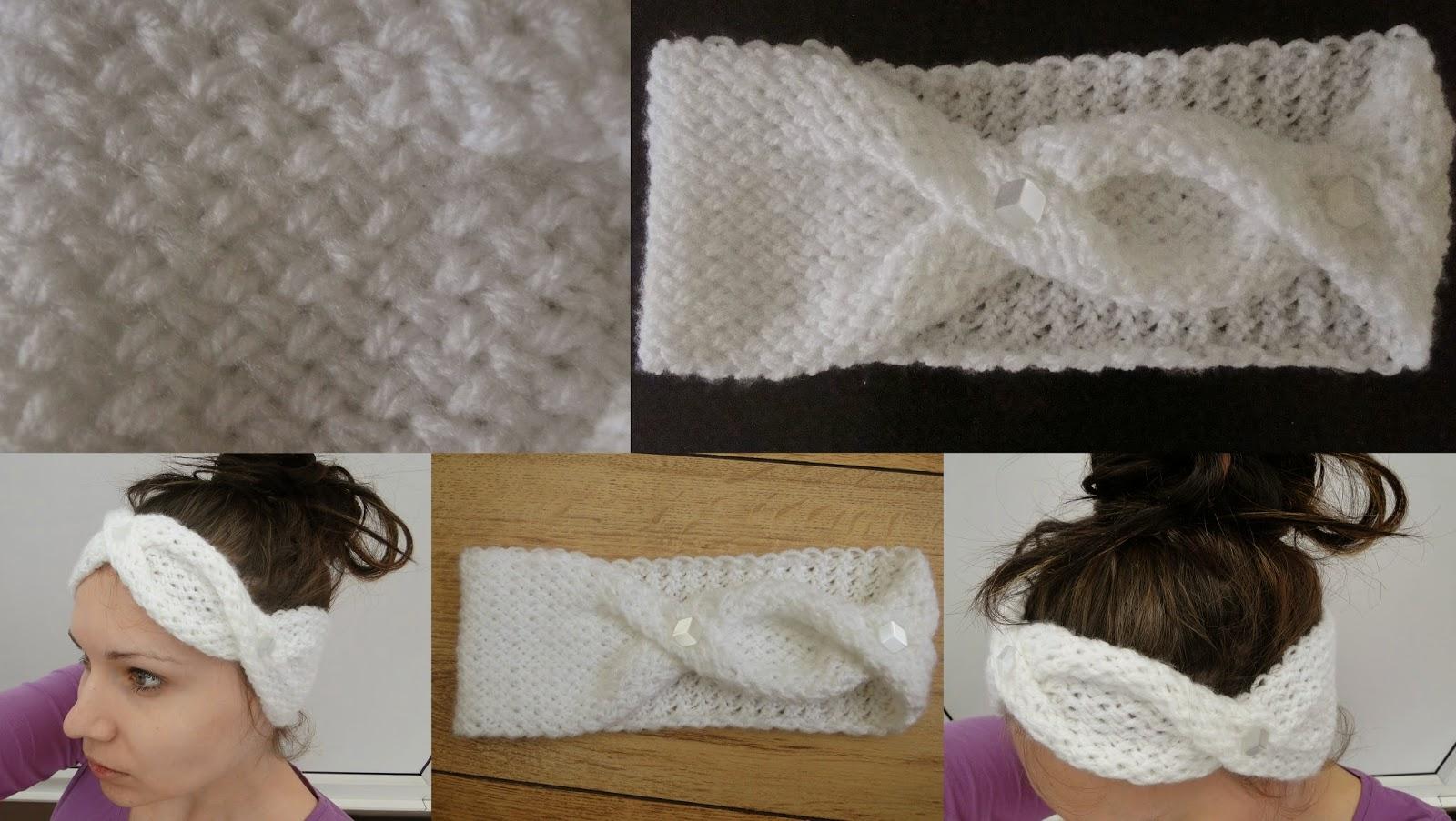 Free Knitting Pattern Twisted Headband : 3 Rabbits Patterns: Stylish Headband Knitting Pattern