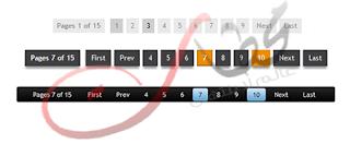اضافة ترقيم الصفحات لمدونة بلوجر بأشكال مختلفه