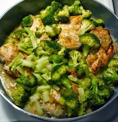 Chicken, Broccoli, and Coconut Milk Recipe