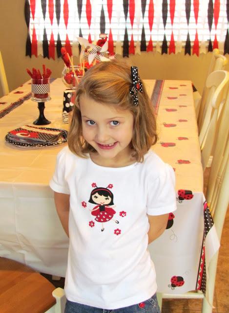 Ladybug Birthday Girl