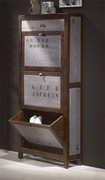 La web de la decoracion y el mueble en la red mueble for Mueble zapatero metalico