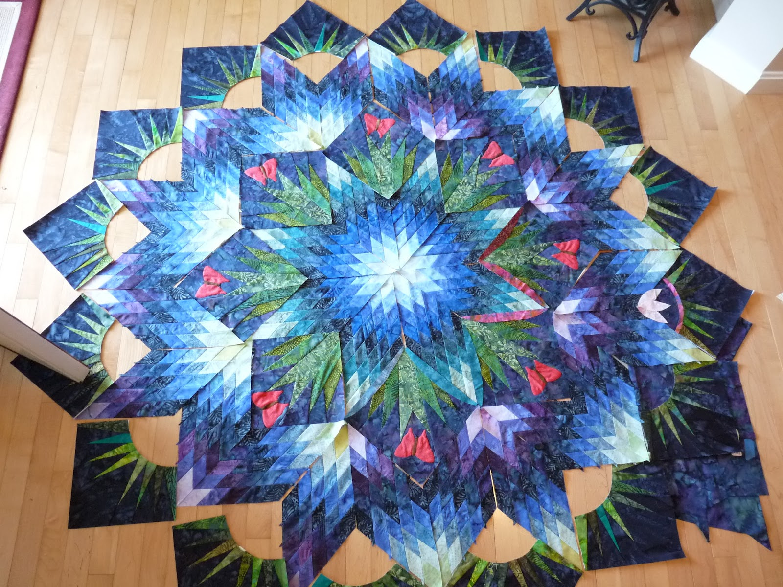 Sewing Quilt Gallery July 2012