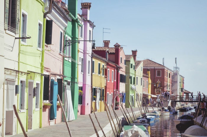 burano row of colourful houses taken by simon jv