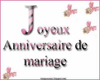 Texte 25 ans de mariage