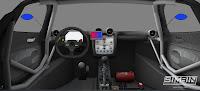 Pagani Zonda R GTR3 renders 9