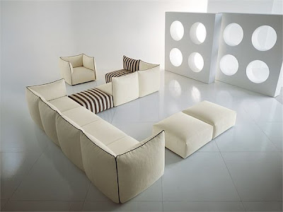 hermosos sofá modular