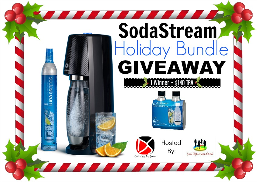 SodaStream Holiday Bundle Giveaway