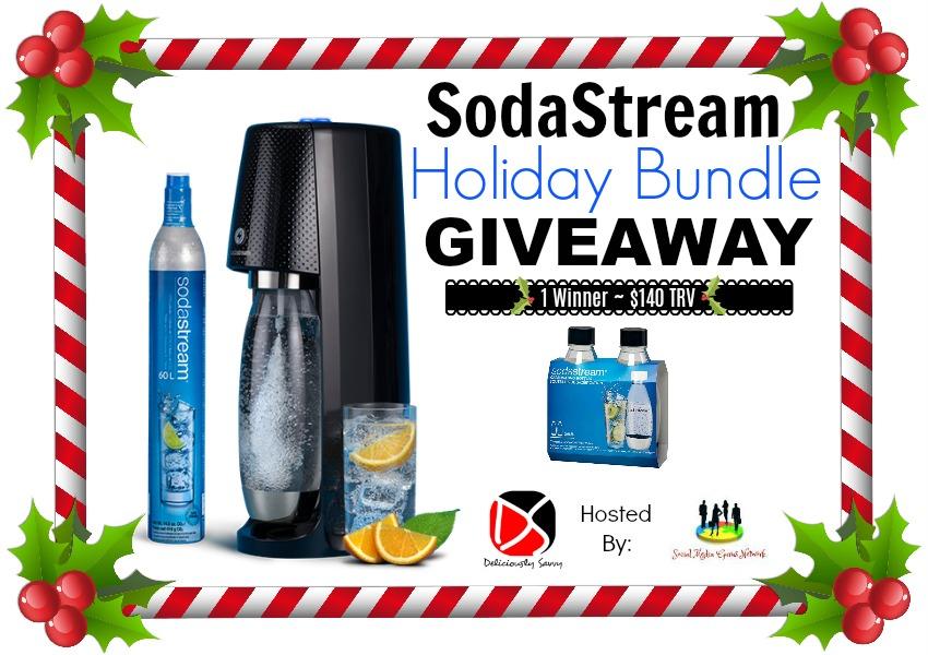 SodaStream Holiday Bundle Giveaway