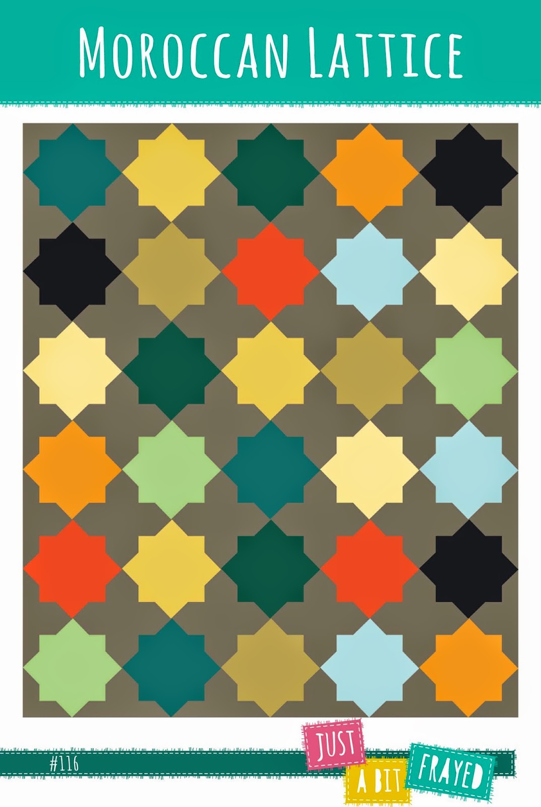 Moroccan Lattice Quilt Pattern