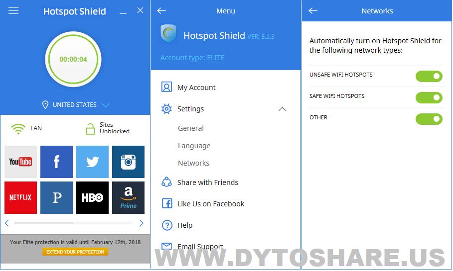 دانلود hotspot shield برای کامپیوتر رایگان ویندوز 7