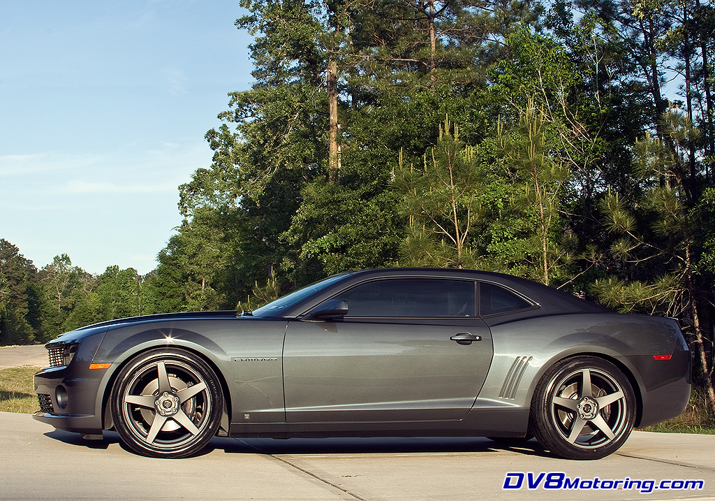 Deviate Motoring Forgestar Cf5 On 2010 Camaro Ss