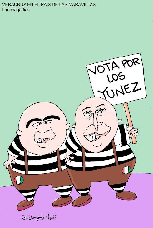 Los gemelos Yunes. PRI Veracruz.
