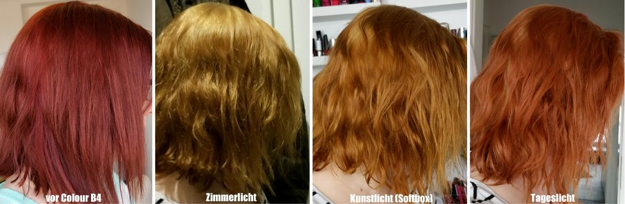 Haarfarbe entfernen colour b4
