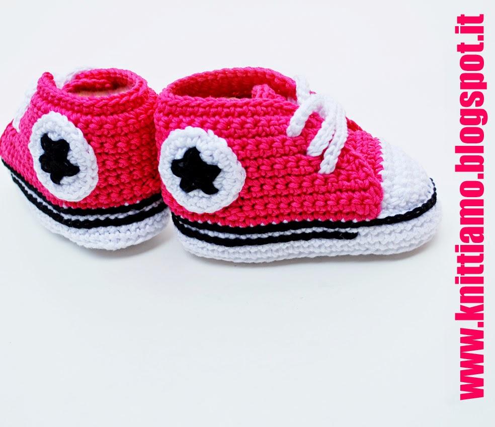 schema scarpe converse in cotone