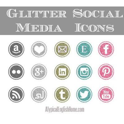 Glitter Blog Icons