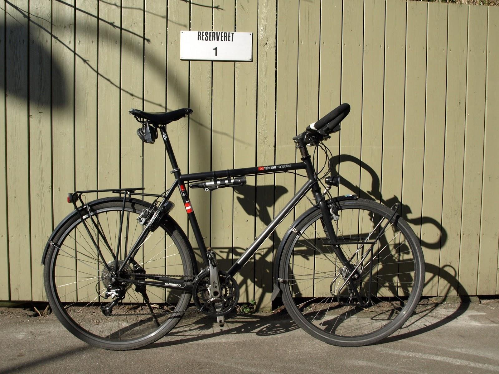 på cykel gennem europa