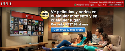 Ver películas por internet gratis Netflix
