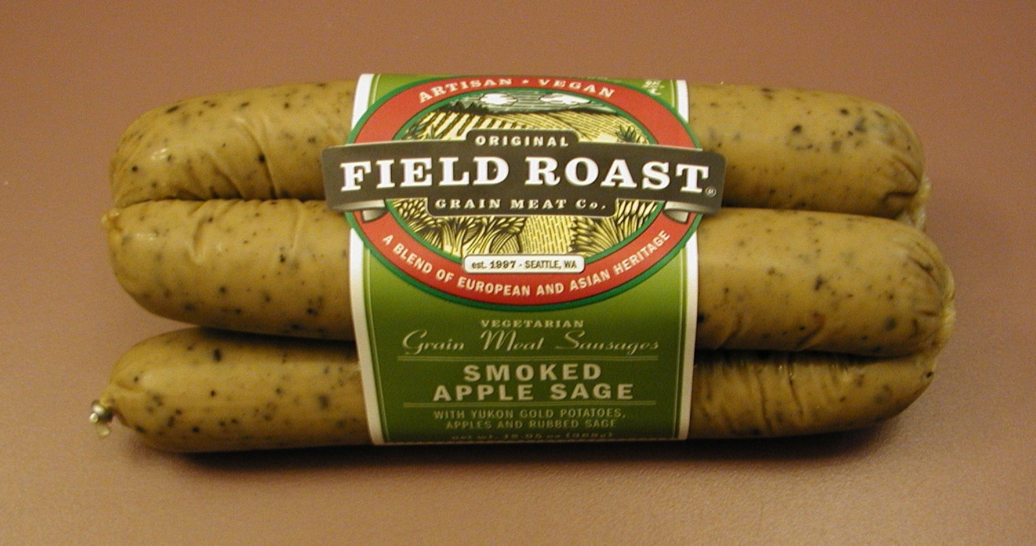 Field Roast Grain Meat Co  Smoked Apple Sage Vegetarian Sausage