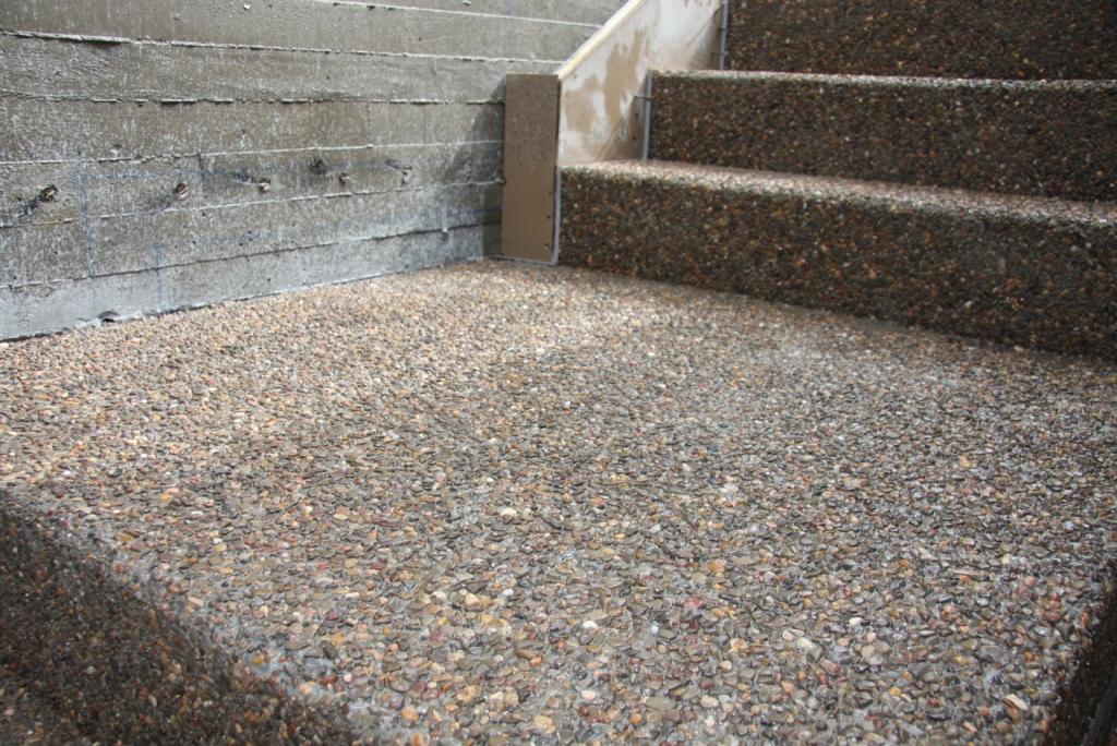 Taller brillonature guillerblog escalera con hormig n for Hormigon desactivado