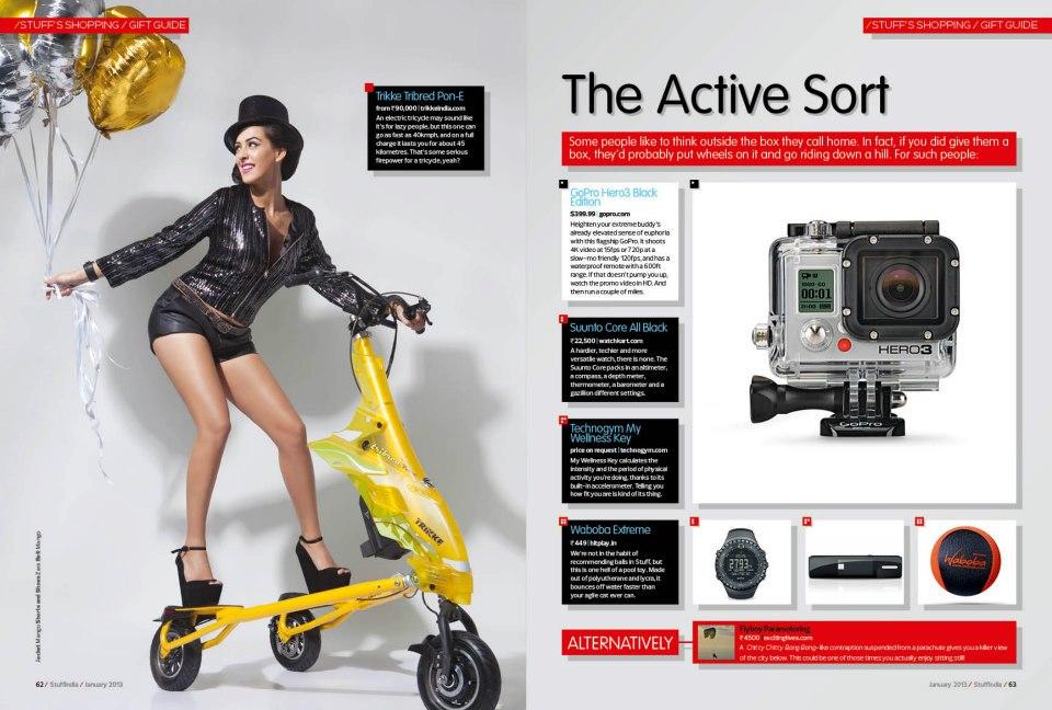Stuff Magazine 2013 Hazel Keech's...