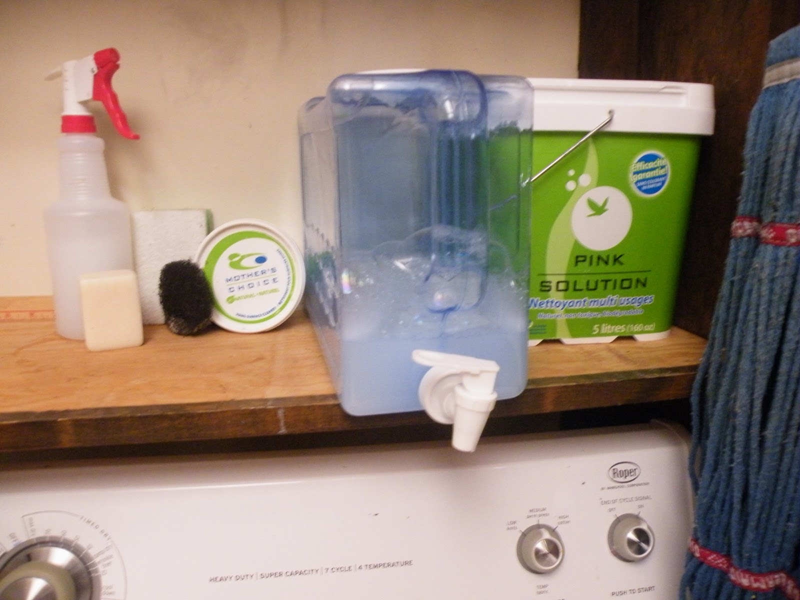 Letting My Breast Hang Out Pink Solution Cleaning Products - Bathroom cleaning solution