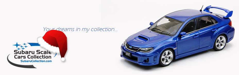 Subaru Collection Models 1/43 Blog