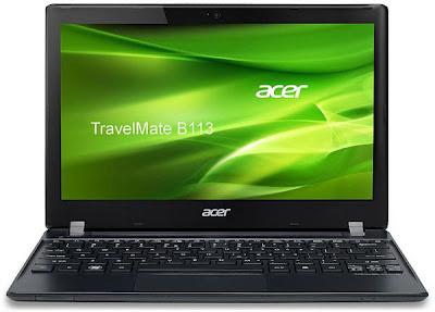 Acer Netbook TravelMate B113 Terbaru
