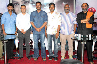 Ajay Devgn & Others at the special screening of 'Makkhi'