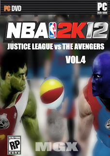 NBA 2K12 Justice League Vs The Avengers V4 Mod