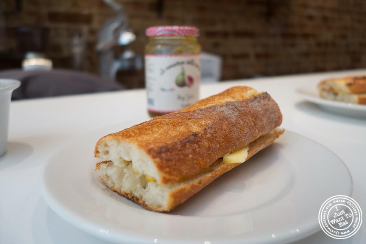image of bread, butter and jam at Verde Vita Toscana in Hoboken, NJ