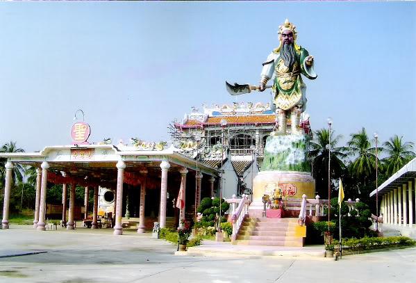 ศาลเทพเจ้ากวนอู (ตงหลีตึ๊ง) นครปฐม ของ มูลนิธิสว่างจิต